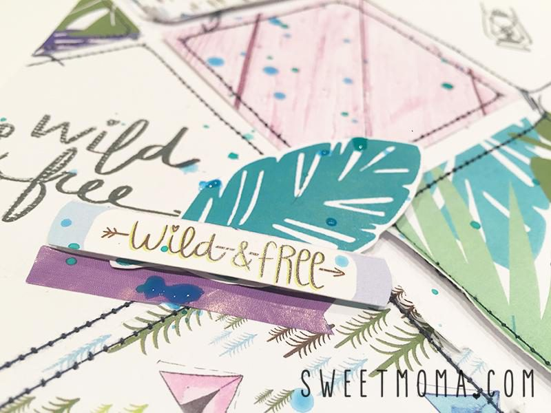 Layout Inspira con Wild and Free 4