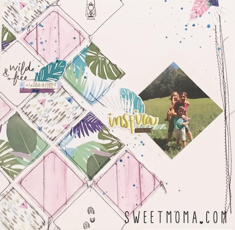 Layout Inspira con Wild and Free 6