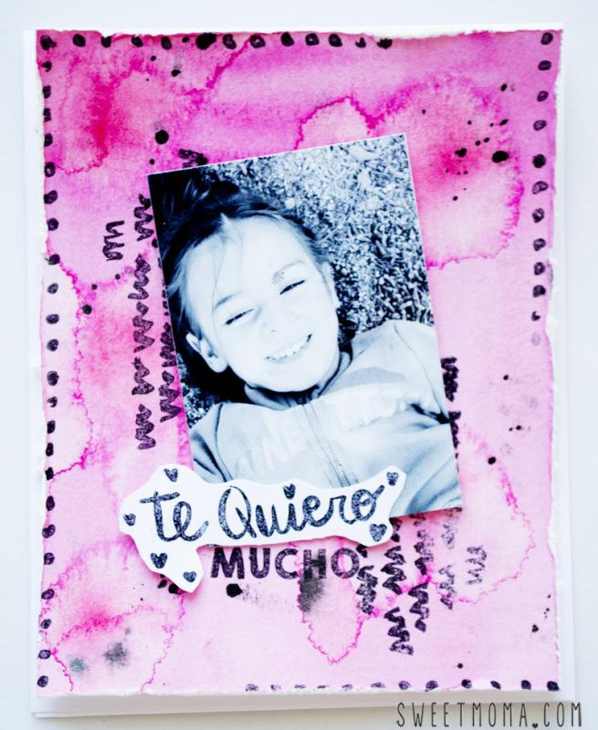 Tarjetas Mix Media Scrapbooking 5
