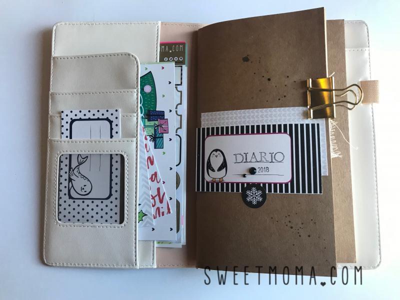 Tutorial Midori Scrapbook Sweet Möma Nanook 8