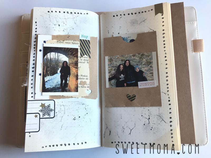 Tutorial Midori Scrapbook Sweet Möma Nanook 1