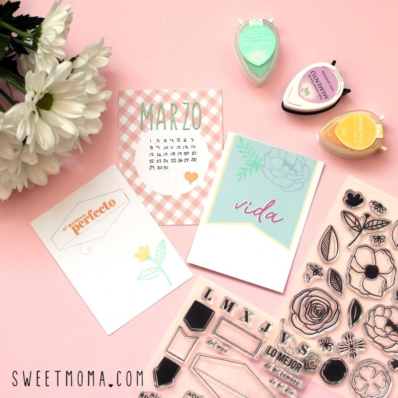 sweetmomabcn sweetmoma PROJECTLIFE project life planner pl journalling ideas pl ideas journalling documentar decoracion project life deco pl aire de sweetmoma aire